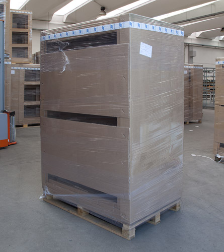 PALLETS READY FOR SHIPMENT